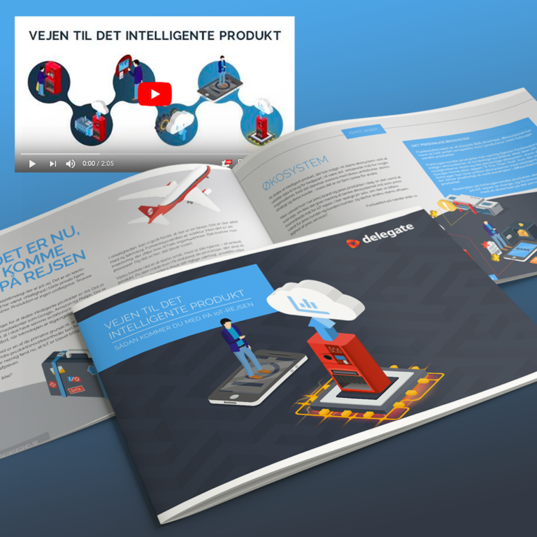 Vejen til det intelligente produkt illustrationer