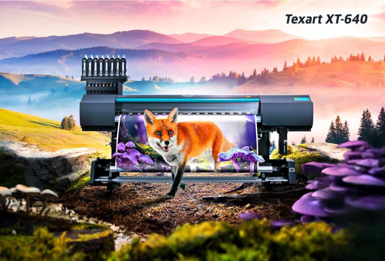 Texart XT-640 Roland printer annonce
