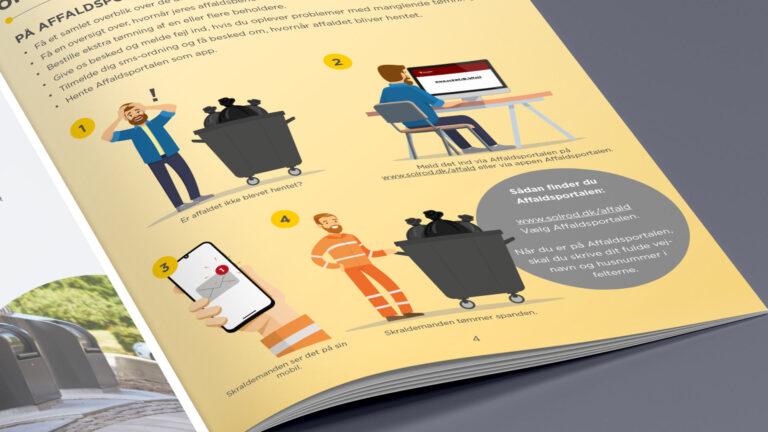 Infografik til brochure