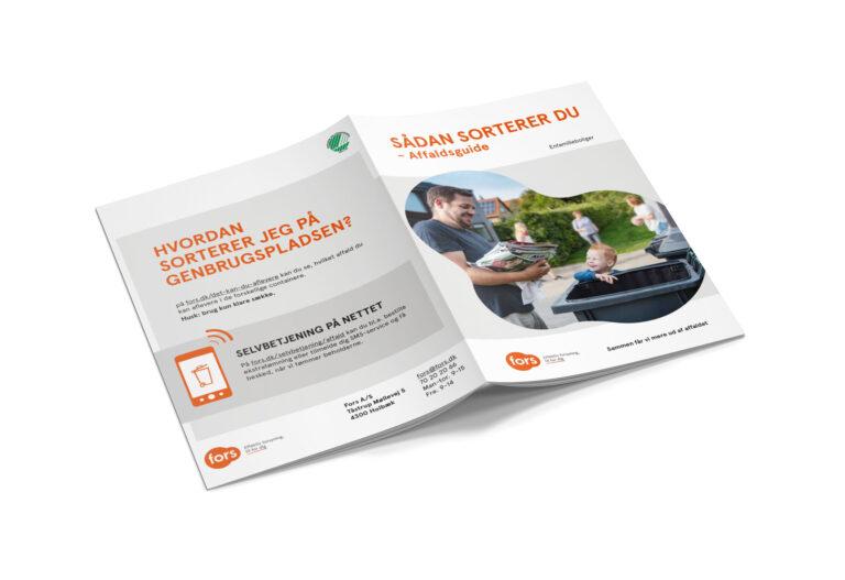 Fors affaldssortering brochure
