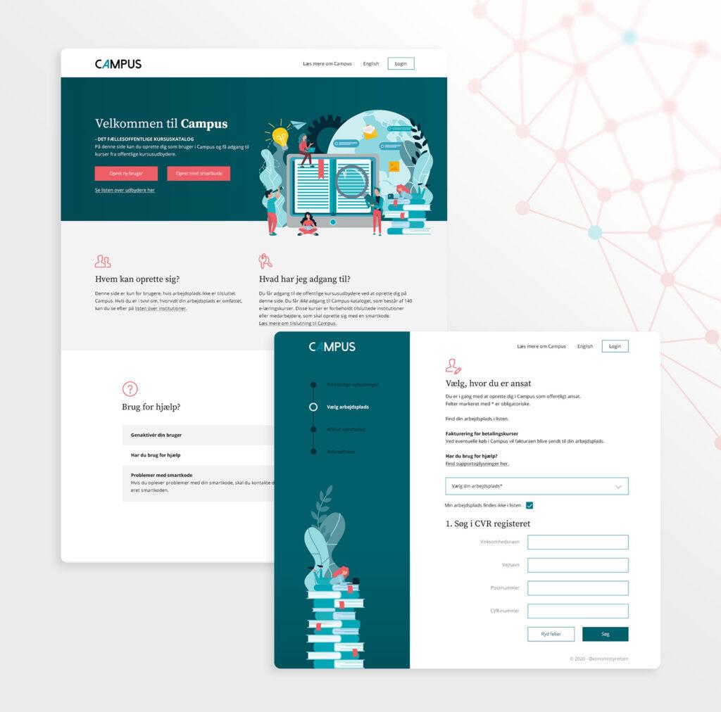 Design af signup process til Campus