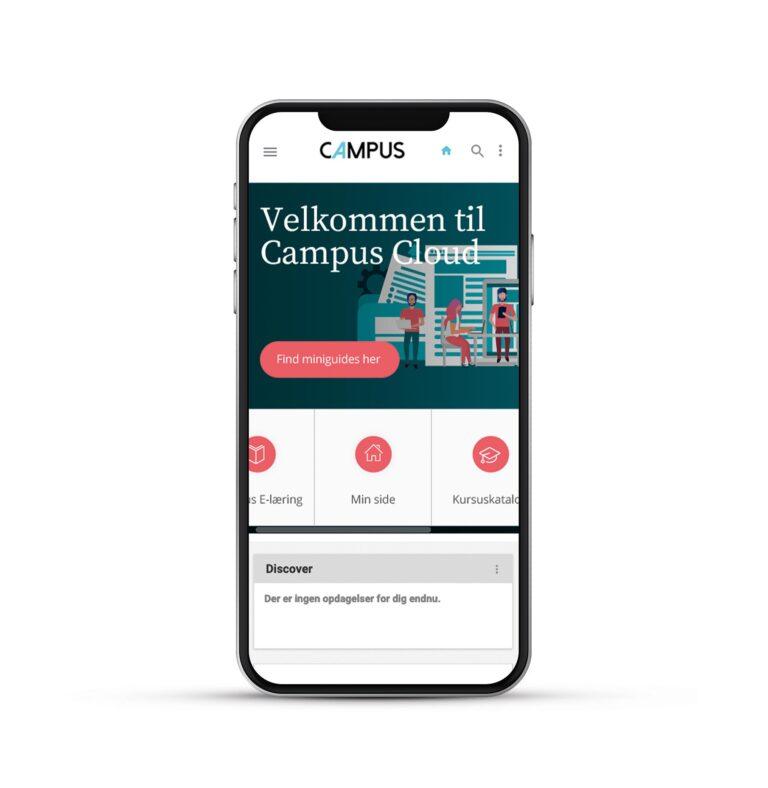 Campus webdesign