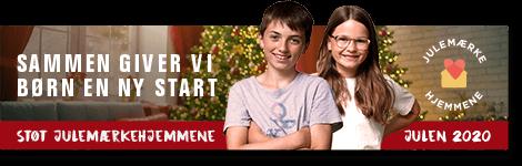 Julemærkefonden jule email banner